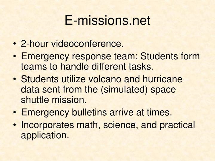 E-missions.net