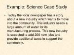 example science case study2