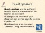 guest speakers1