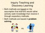 inquiry teaching and discovery learning1