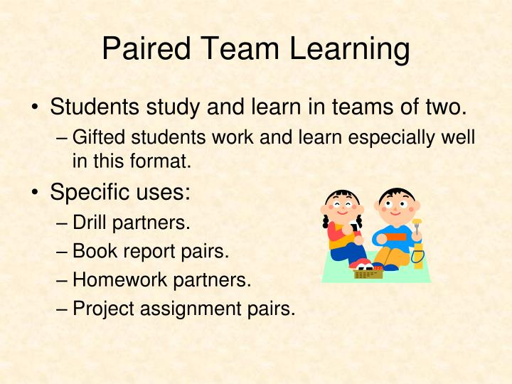 Paired Team Learning