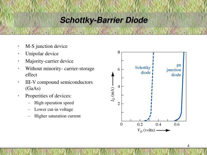 Schottky-Barrier Diode
