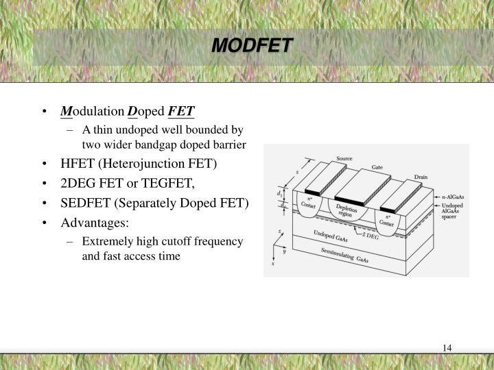 MODFET