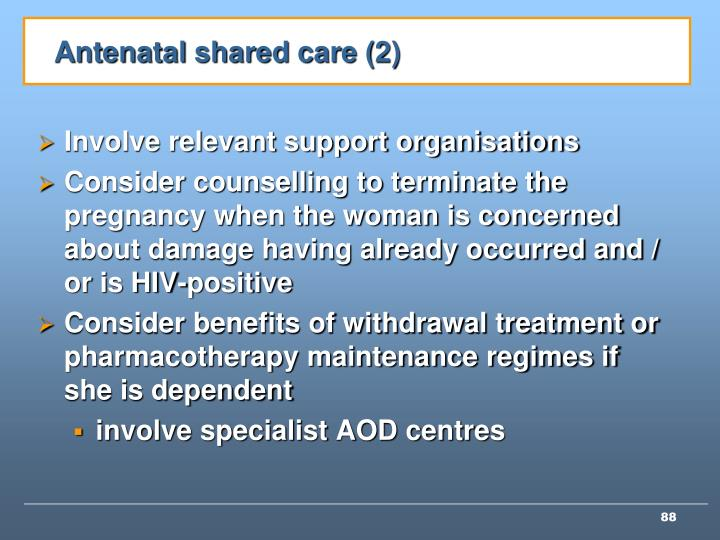 Antenatal shared care (2)