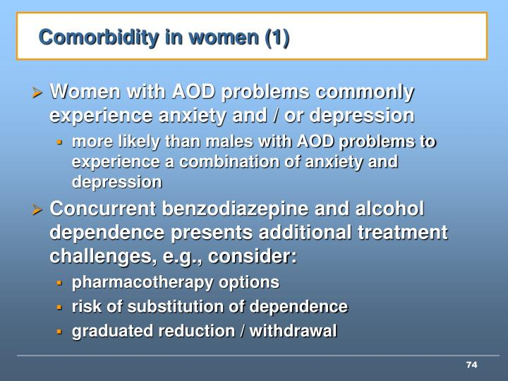 Comorbidity in women (1)