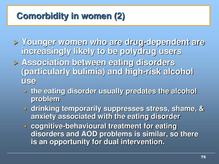 Comorbidity in women (2)