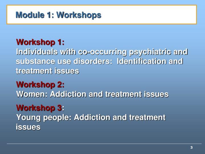 Module 1: Workshops