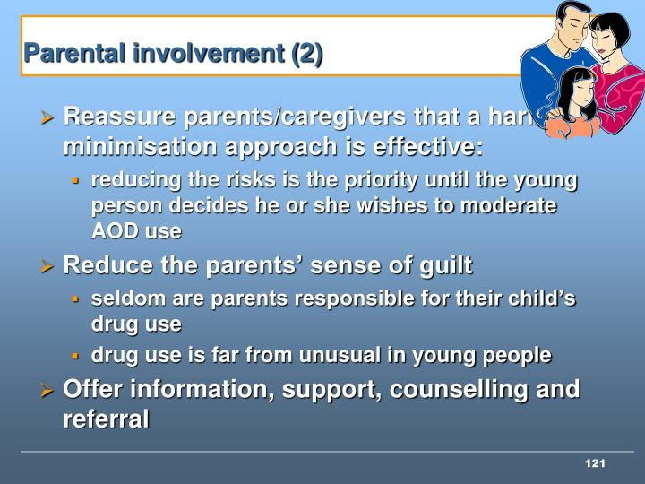 Parental involvement (2)