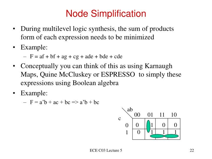 Node Simplification