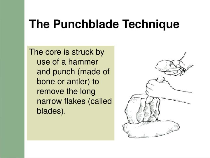 The Punchblade Technique