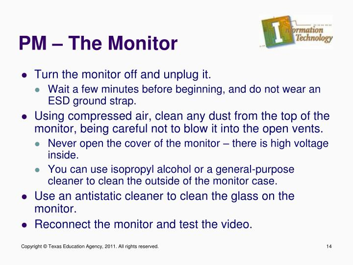 PM – The Monitor