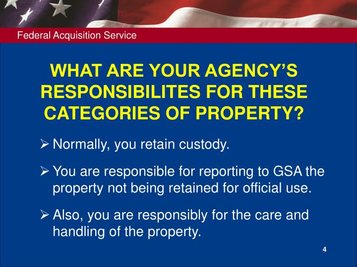 WHAT ARE YOUR AGENCY'S