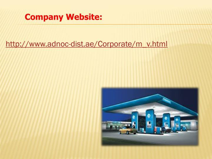 Company Website: