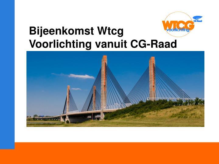 Bijeenkomst Wtcg