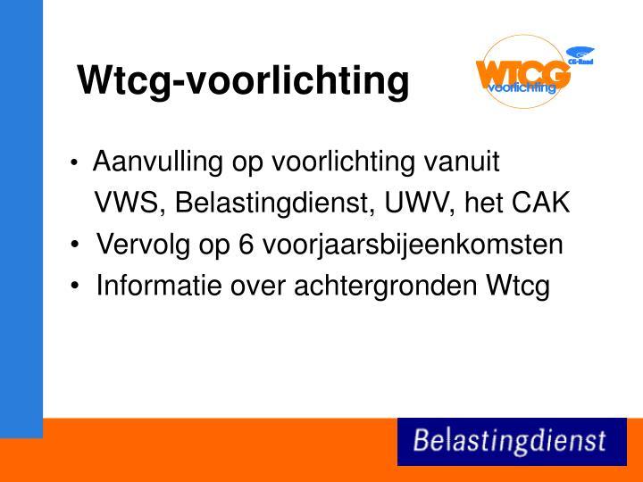 Wtcg-voorlichting