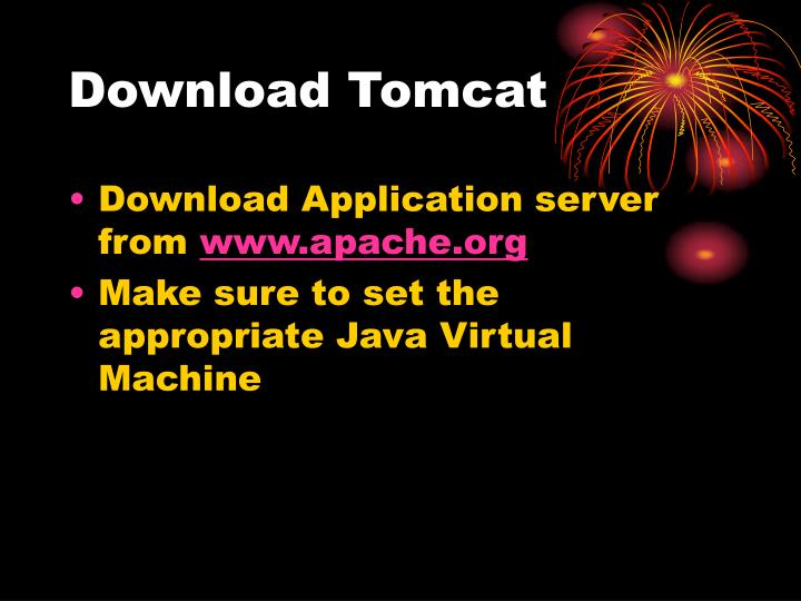 Download tomcat