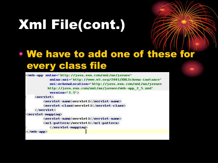 Xml File(cont.)
