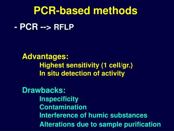 PCR-based methods
