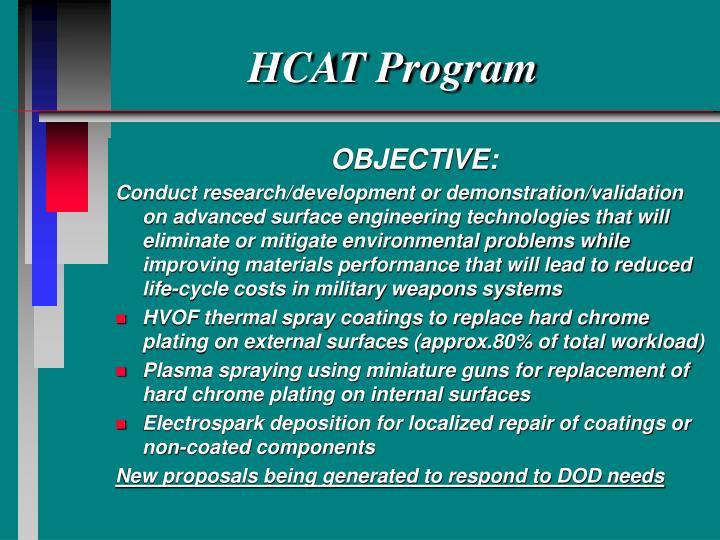 HCAT Program