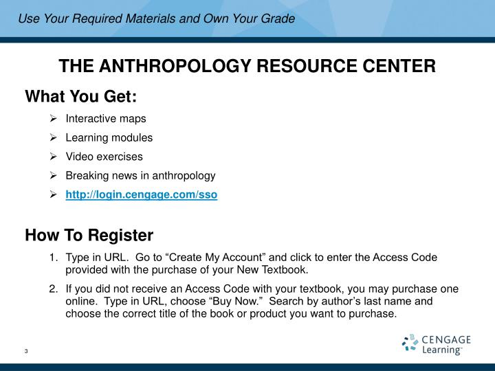 The anthropology resource center