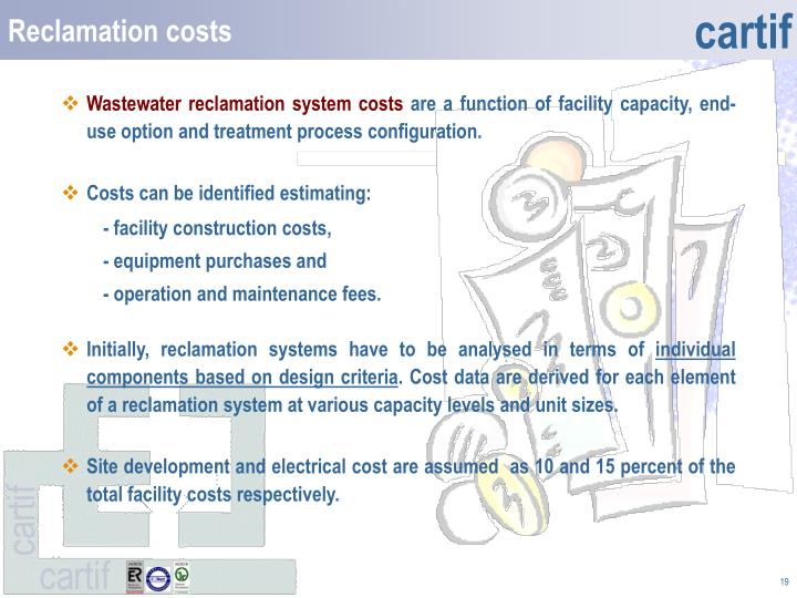 Reclamation costs