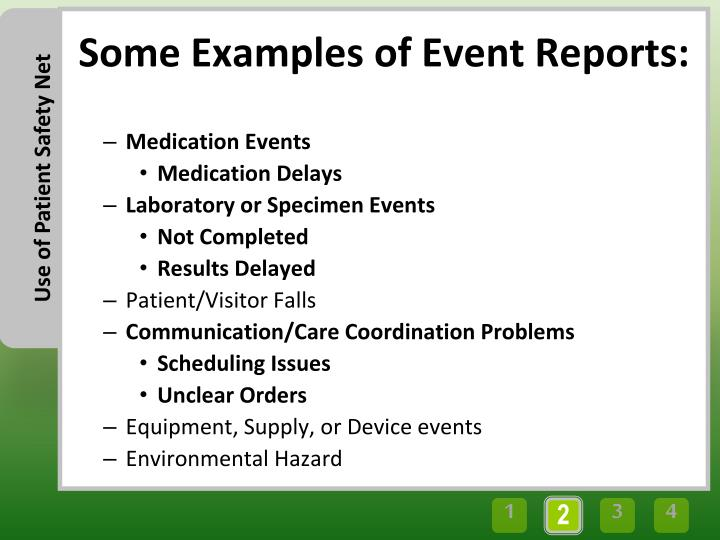 Medication Events