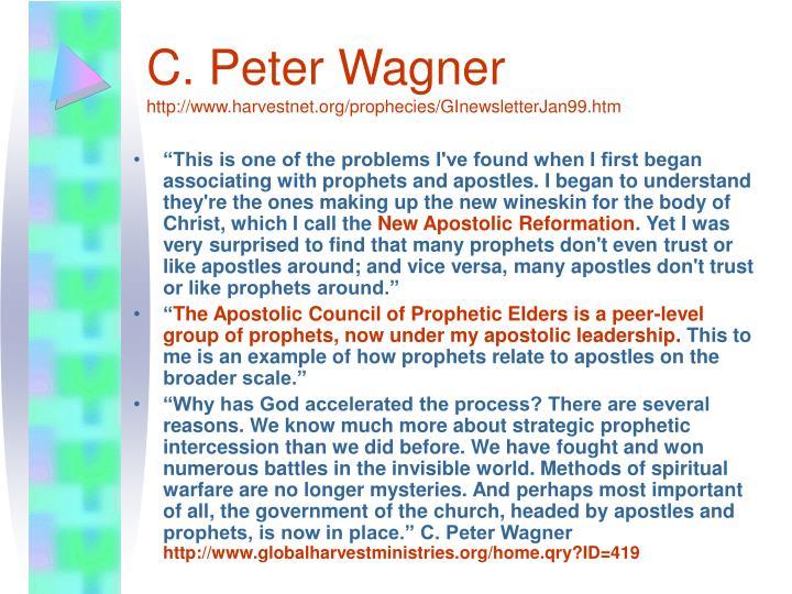 C. Peter Wagner