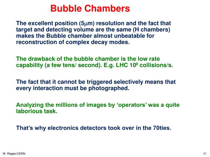 Bubble Chambers