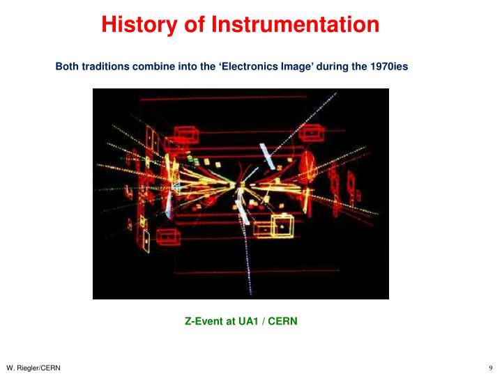 History of Instrumentation