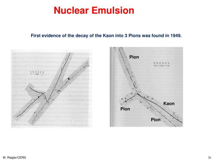 Nuclear Emulsion