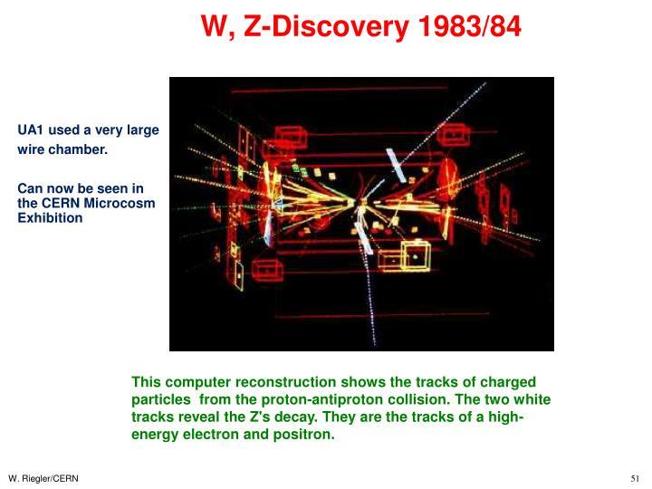 W, Z-Discovery 1983/84