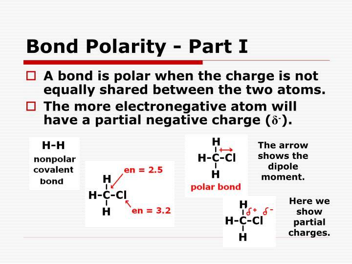 Bond Polarity - Part I