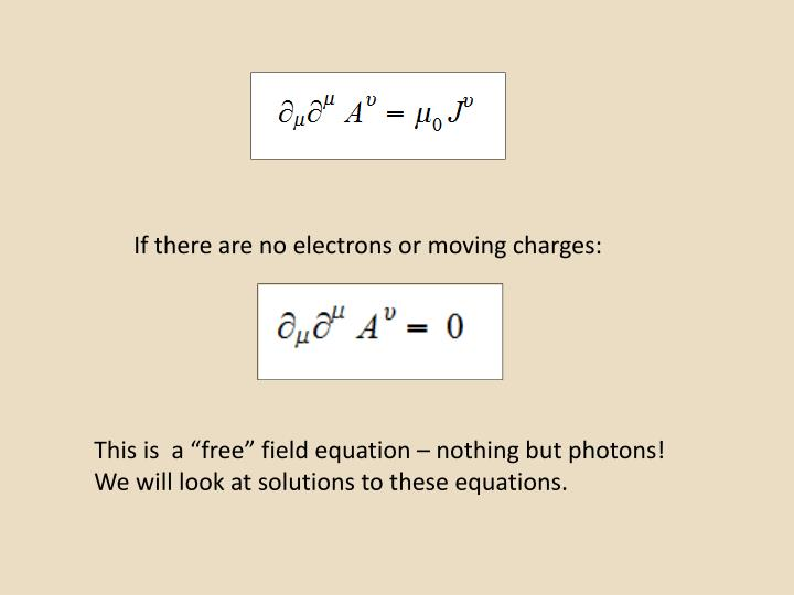 If there are no electrons or moving charges: