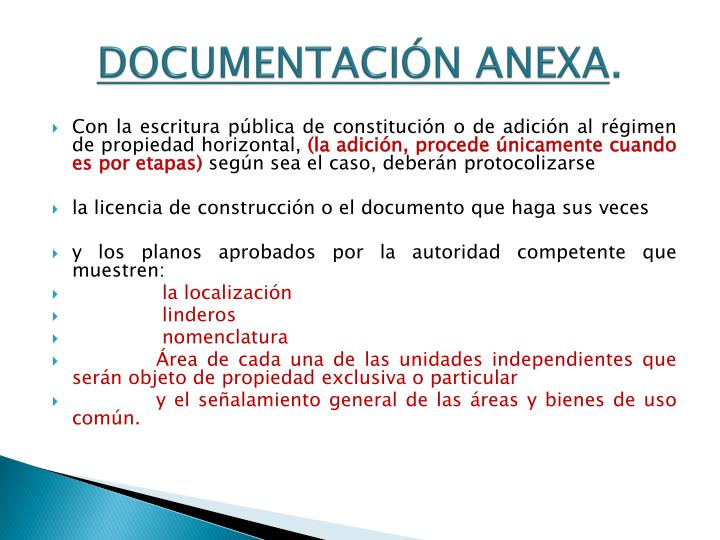 Documentación anexa