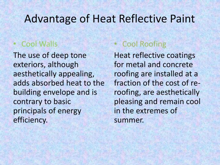 Ppt Heat Reflective Paint Powerpoint Presentation Id 2938580