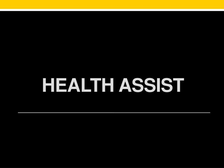 Health Assist