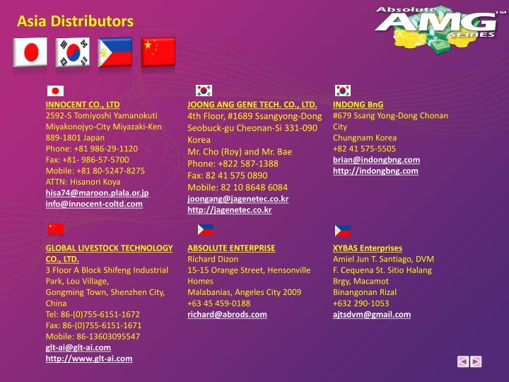 Asia Distributors