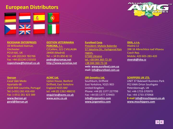 European Distributors