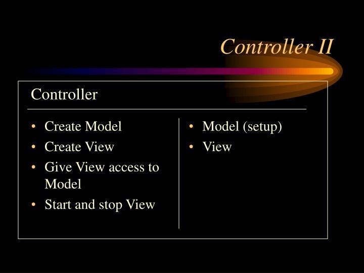 Create Model