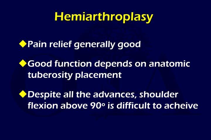 Hemiarthroplasy