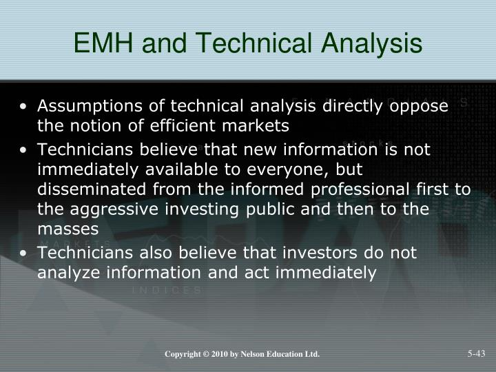 EMH and Technical Analysis