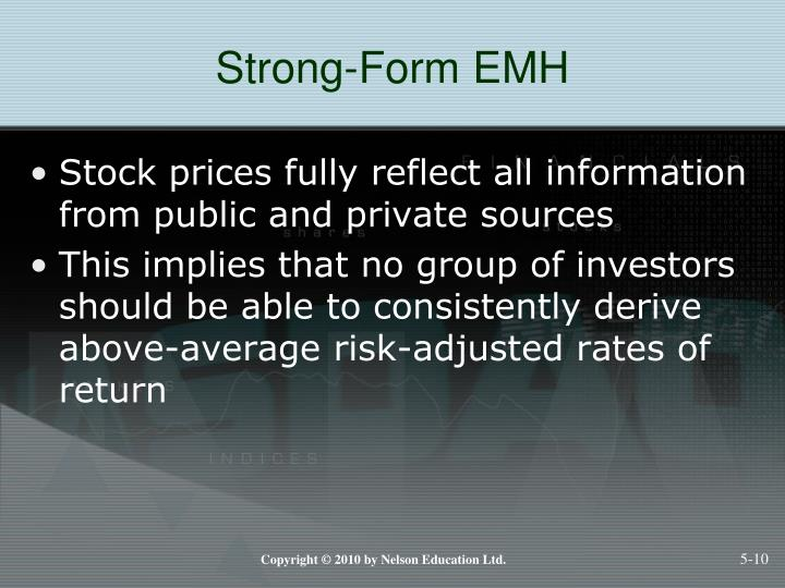 Strong-Form EMH