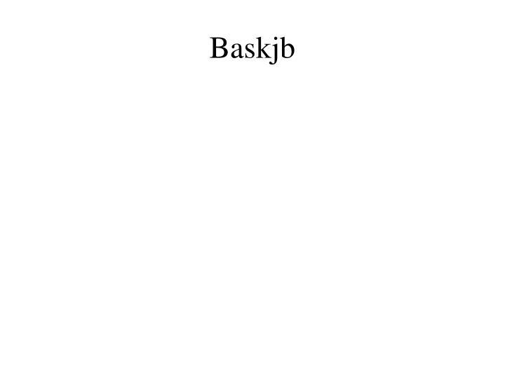 Baskjb