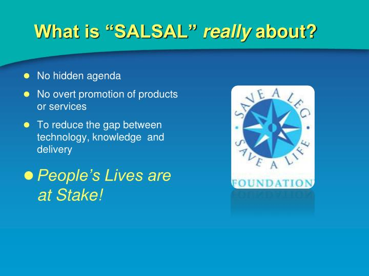 "What is ""SALSAL"""