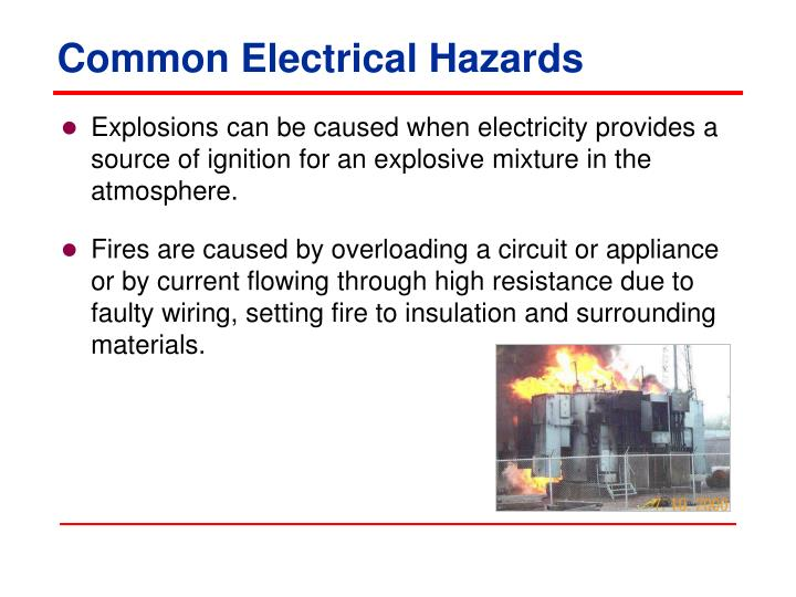 Common Electrical Hazards