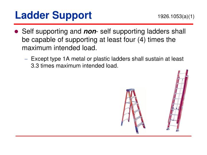 Ladder Support