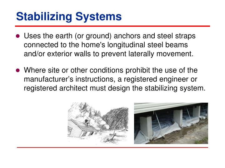 Stabilizing Systems