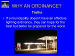 why an ordinance2