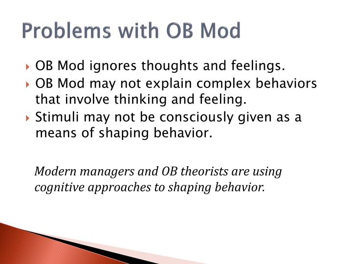 Problems with OB Mod