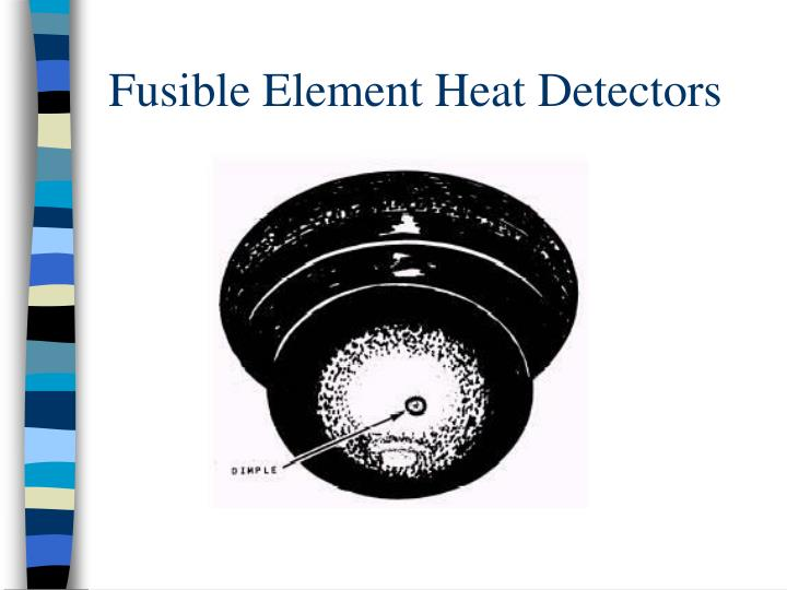 Fusible Element Heat Detectors